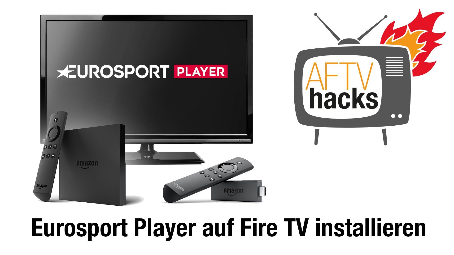 Anleitung: Wie man den Eurosport Player auf dem Fire TV installiert