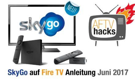 Anleitung: Wie man SkyGo auf dem Fire TV & Fire TV Stick installiert (unter dem neuen Fire OS)