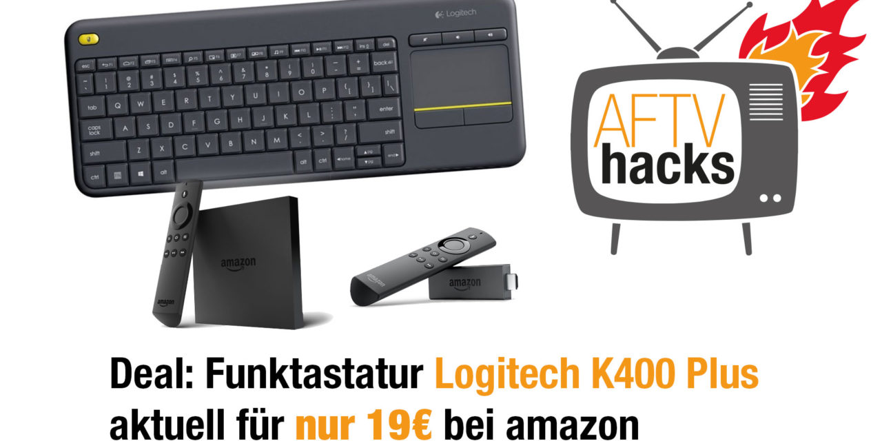 Deal: Logitech K400 Plus für 19€ bei amazon