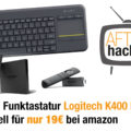 Logitech K400 Plus Funktastatur aktuell reduziert auf amazon