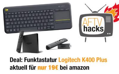 Deal: Logitech K400 Plus für 19€ bei amazon