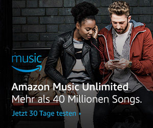 Amazon Music Unlimited 30 Tage lang kostenlos testen