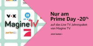 Magine TV ein Jahr lang auf dem Fire TV für 66€ schauen