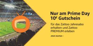Zattoo-Premium ein Jahr lang auf dem Fire TV schauen und 10€ Gutschein erhalten