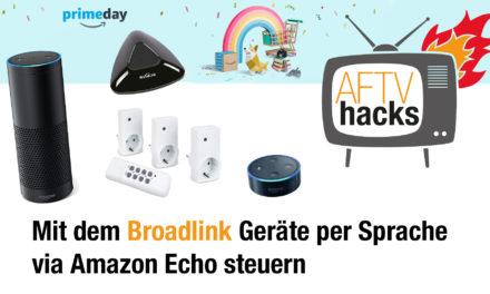 Normale Funksteckdosen per Broadlink mit Amazon Echo steuern
