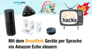 Mit dem Broadlink Geräte per Amazon Echo steuern