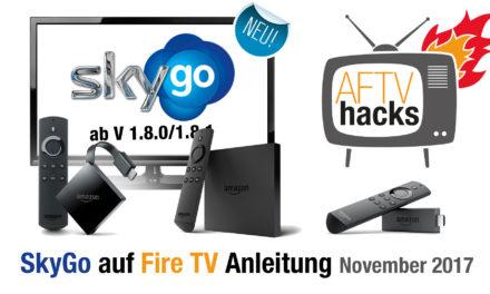 Anleitung: SkyGo auf dem Fire TV installieren (Stand November 2017)