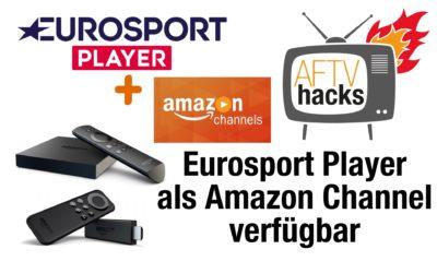 Eurosport Player jetzt als Amazon Channel verfügbar