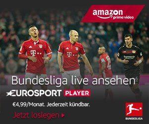 Alle Freitags-, 5 Sonntags- & alle Montagsspiele sind exklusiv auf Eurosport zu sehen. Jetzt sind diese auch direkt vom Fire TV aus abrufbar.