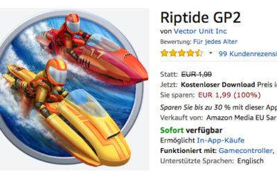 Deal: Rennspiel Riptide GP2 aktuell kostenlos