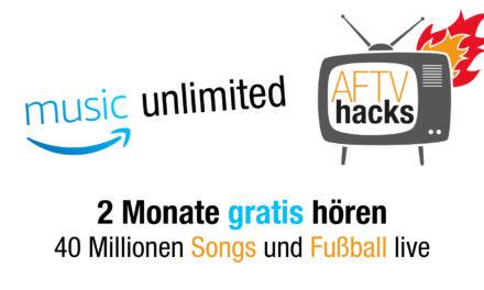 40 Mio Songs & Fußball live 2 Monate gratis – music unlimited Familienmitgliedschaft testen