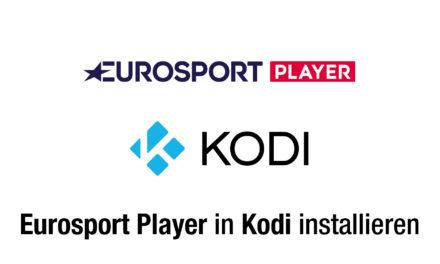 Anleitung: Eurosport Player in Kodi installieren