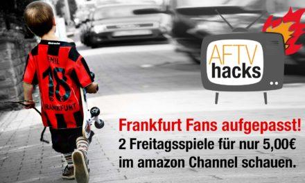 Eintracht Fans aufgepasst: die nächsten 2 Freitagsspiele für 5€ im Eurosport Player anschauen