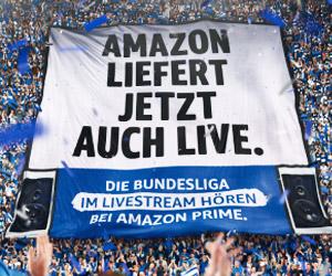 Amazon Prime Music überträgt die Bundesliga Live als Audio-Stream