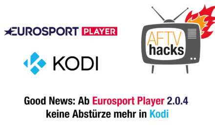 Eurosport Player Kodi-AddOn funktioniert jetzt wieder – Bundesliga kann kommen