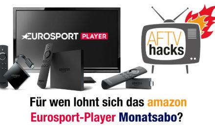 Für wen lohnt sich das Eurosport Player Monats-Abo bei Amazon?