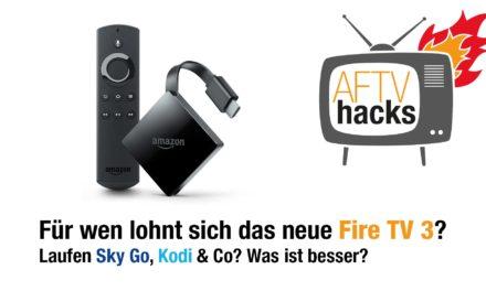 Neues Fire TV 3: Erster Test & für wen lohnt es sich?