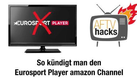 Anleitung: Eurosport Player bei Amazon kündigen (Amazon Channel)