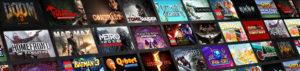 Ausschnitt aus dem Nvidia Shield Spiele-Angebot