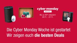 Die Cyber Monday Woche ist gestartet