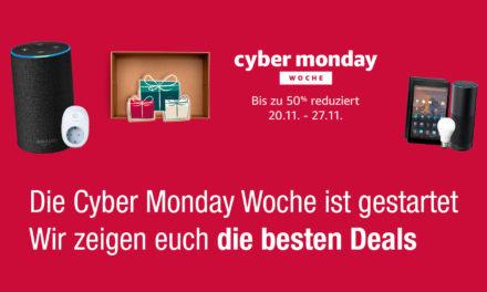 Die Cyber Monday Woche ist gestartet – Hier sind die Deals von heute