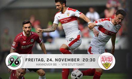 Eurosport Player: Hannover 96 gegen VfB Stuttgart heute für 4,99€