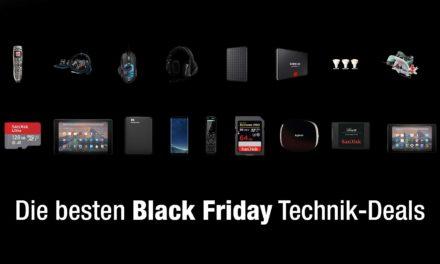 Black Friday – Das sind die besten Technik-Deals am Freitag