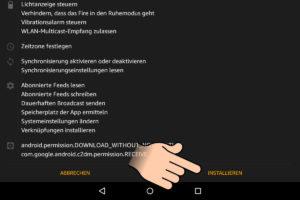 Google Play Services installieren