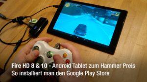 Mit Hilfe des Google Play Stores kann man auch dort gekaufte Apps & Spiele nutzen - bspw. wie hier zu sehen GTA 3.