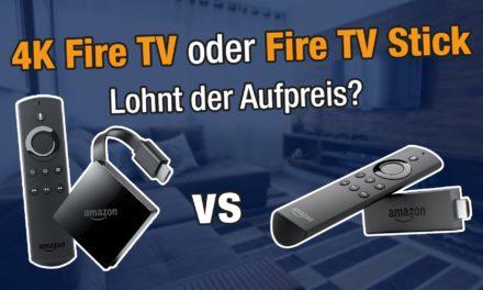 Vergleich: Fire TV Stick 2 oder Fire TV 3 – lohnt sich der Aufpreis?