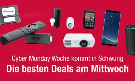 Cyber Monday Woche: Die Technik-Deals vom Mittwoch