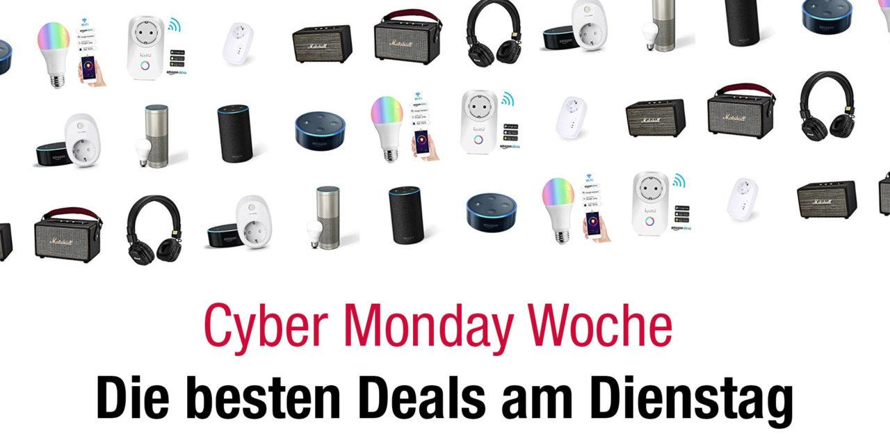 Cyber Monday Woche 2017. Das sind die Deals am Dienstag
