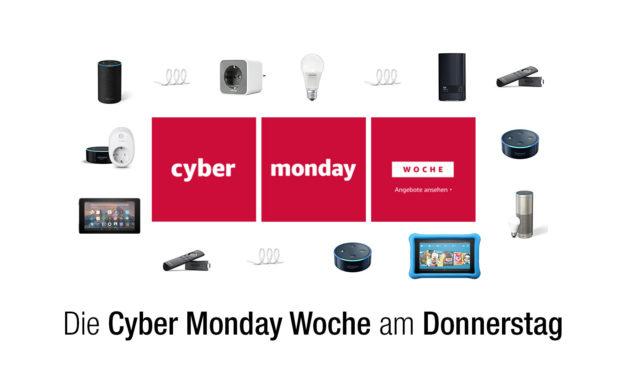 Die Technik-Deals am Donnerstag – Cyber Monday Woche