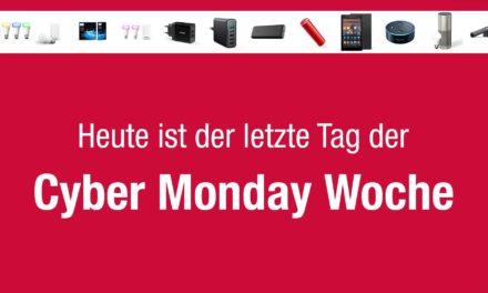 Cyber Monday Woche Endspurt – Das sind die Deals am Montag