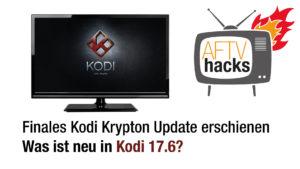 kodi krypton 17.6 Update erschienen