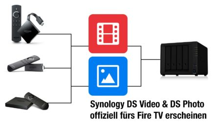 Synology DS Video & DS Photo Apps offiziell fürs Fire TV erscheinen
