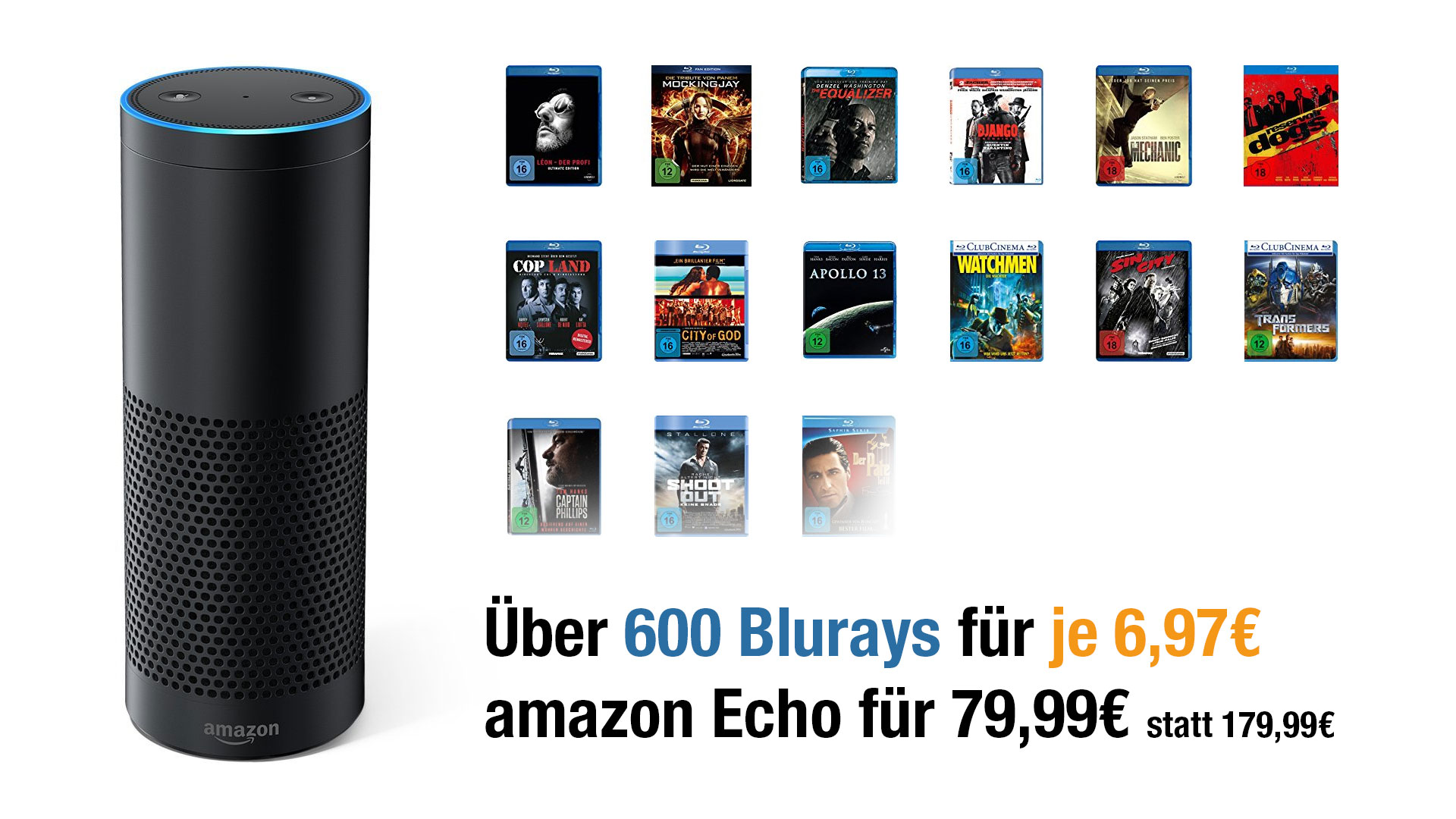 ueber 600 blurays auf amazon reduziert und echo im. Black Bedroom Furniture Sets. Home Design Ideas