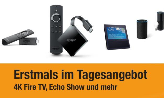 Deals: 4K Fire TV 3 das erste Mal reduziert & Stick wieder für 25€