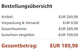 Aktuell bekommt man 2 Echo Show dank Gutscheincode SHOW2Pack für 190 Euro