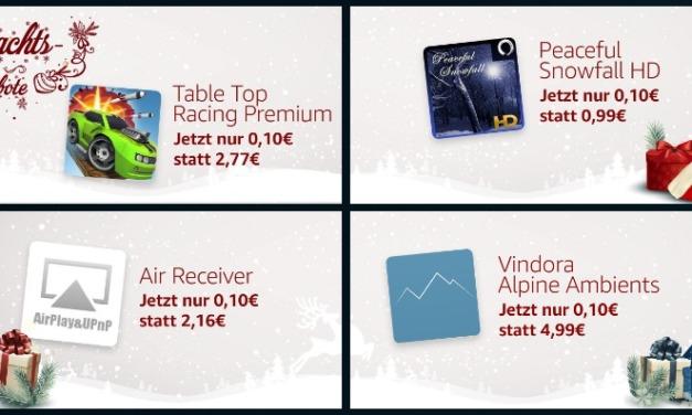 Deal: 8 Fire TV Apps bzw. Games für 0,10€ im Angebot – auch AirReceiver