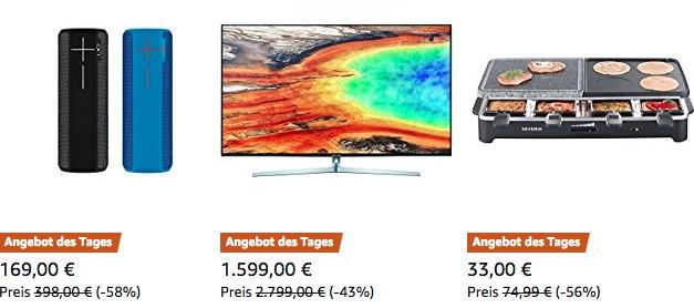 Deals: Amazon-Last-Minute-Schnäppchen vom 15.12.2017