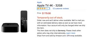 Das Apple TV 4k ist bspw. schon vorbestellbar und auch der Preis ist mittlerweile eingepflegt