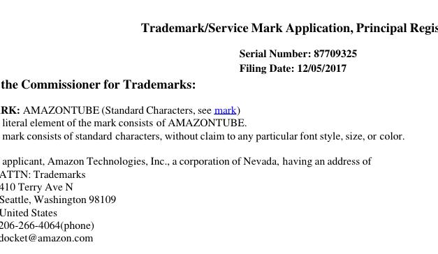 Neuigkeiten im Streit mit Google: Amazon meldet Patent auf YouTube-Klon an