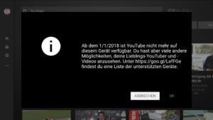 YouTube nicht mehr auf Amazon Fire TV verfügbar?