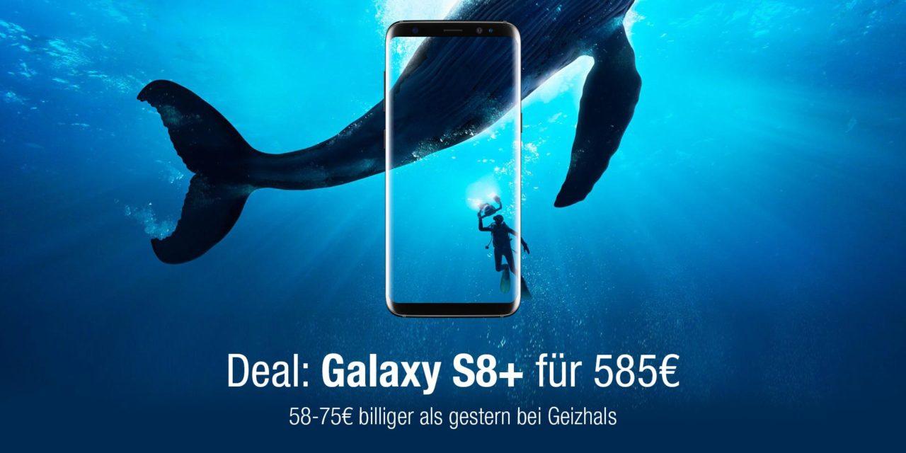 Deal: Galaxy S8+ für 585€ – 58-75€ billiger als gestern bei Geizhals
