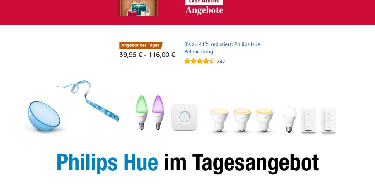 deal einige philips hue sets lampen schalter bewegungsmelder im angebot aftvhacks. Black Bedroom Furniture Sets. Home Design Ideas