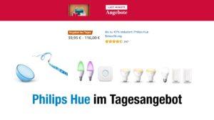 Philips Hue im Tagesangebot auf amazon