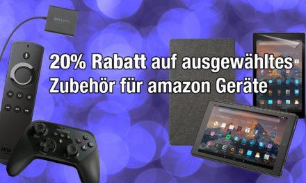 Deal: 20% Rabatt auf Zubehör für amazon Geräte