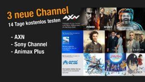 3 neue Sony amazon Channel kostenlos testen