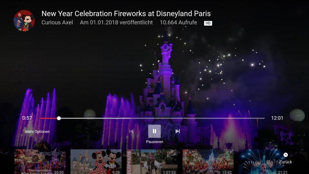 Auch heute am 3.1.2018 funktionieren noch alle Varianten, YouTube auf dem Fire TV abzuspielen